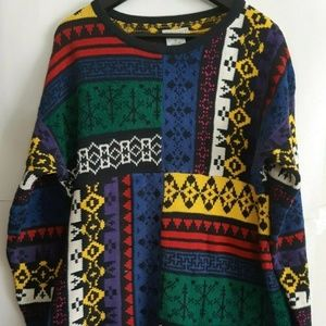 Vintage 80s 90s Esprit Medium 44 inch Sweater